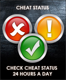 Click for Cheat Status