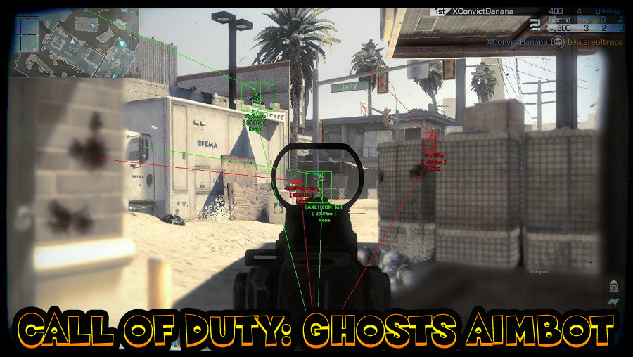 call of duty ghosts aimbot