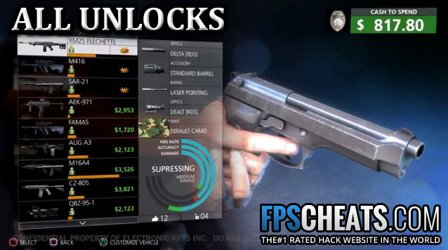 battlefield hardline cheats